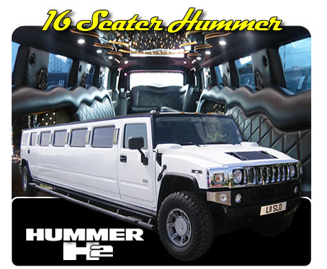 16 Seater COIF Legal Hummer Limo